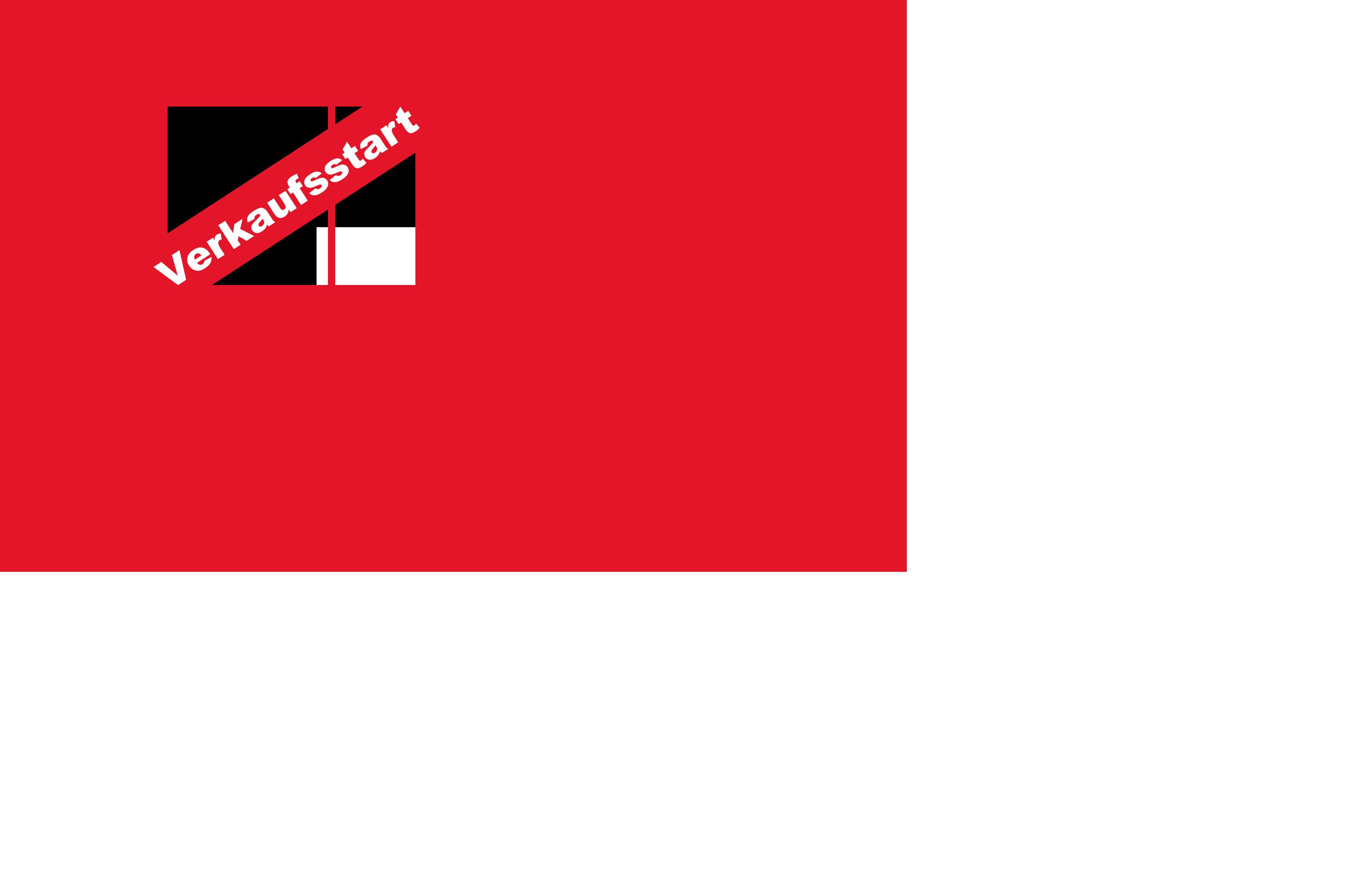 Banner Verkaufsstart